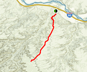 Bozeman Trail Map