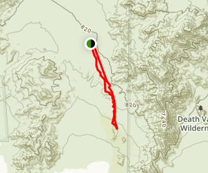 Ibex Dunes Trail Map
