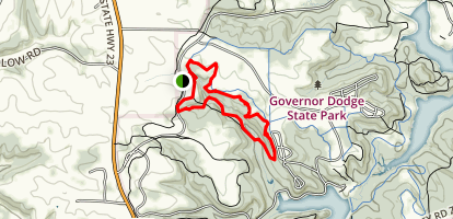 Lost Canyon Trail Map
