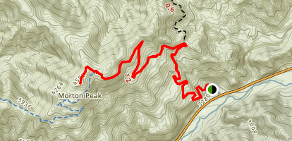 Morton Ridge Trail Map