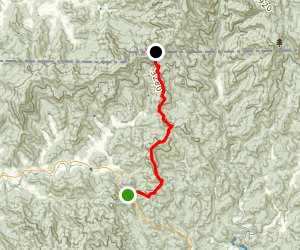 Appalachian Trail: Dicks Creek Gap to Bly Gap Map