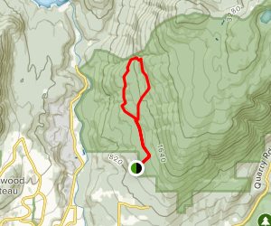 Woodland Walks (Lower Burke Ridge) Trail Map
