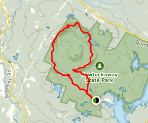 North Mountain and Boulder Trail Loop Map