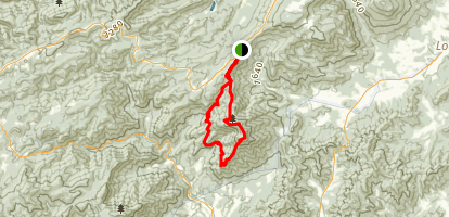 Three Ridges Trail Map