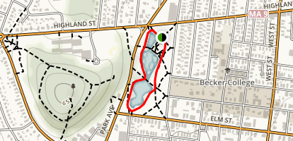 Elm Loop Trail Map