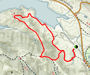 Los Cerritos Trail Map