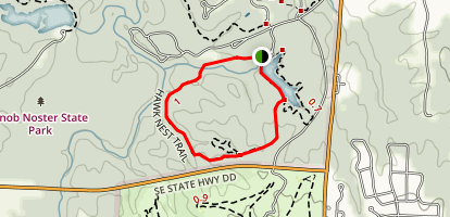 Hawk Nest Trail Map