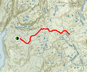 Pole Creek Trail Map