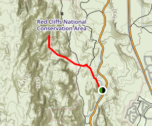 Red Sands Trail Map