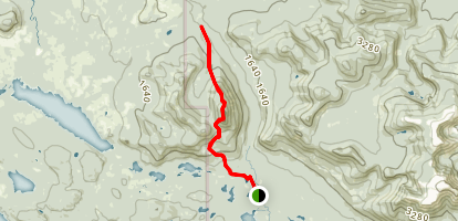 Doubletop Mountain Trail Map