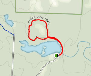 Clearfork Trail Map