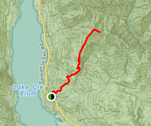 Hex Mountain Trail Map