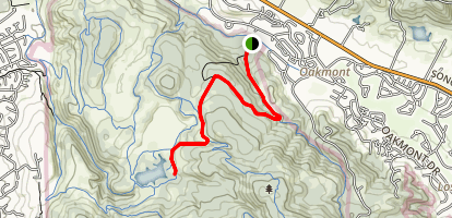 Warren Richardson Trail Map