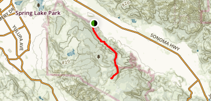 Two Quarry Trail Map