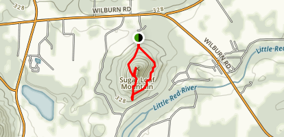 Sugarloaf Mountain Trail Map