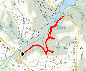 Beech Bluff Trail [CLOSED] Map