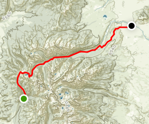 Crazy Mountains Crossing Map
