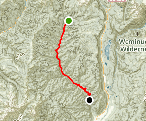 Hermosa Creek Trail Map