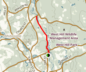 Blackstone River and Canal Heritage Trail Map