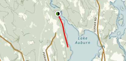 Lake Auburn Map