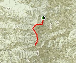 Telescope Peak Trail Map