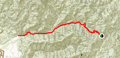 Trabuco Canyon Trail Map