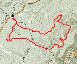 Big Hill Trail Map