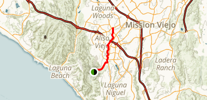 Aliso Creek Trail Map