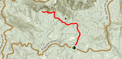 Dewey, Crocker, and Stanford Point via the Pohono Trail Map