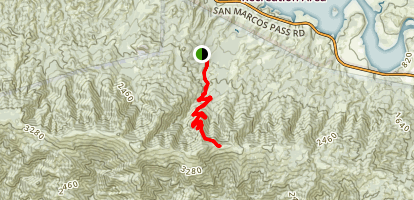 Tequepis Trail  Map