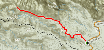 Honopu Ridge Map