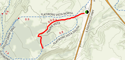 Prairie Vista Trail Map