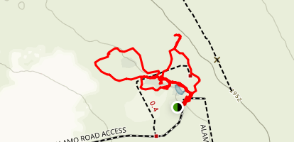 Corn Creek Nature Trail Map