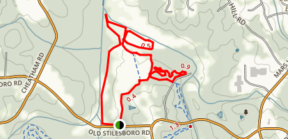 Allatoona Creek Trail Map