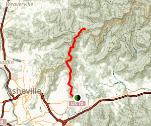 Blue Ridge Trail to Rattlesnake Lodge via the Mountain to Sea Trail Map