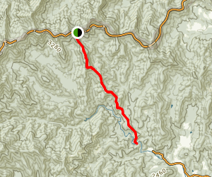 Trace Ridge Trail Map