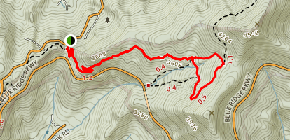 Rattlesnake Lodge Trail Map