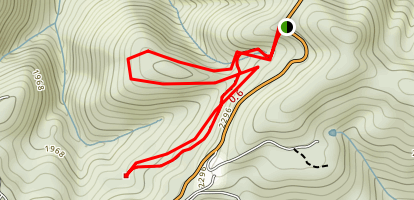 Poor Mountain Trail Map