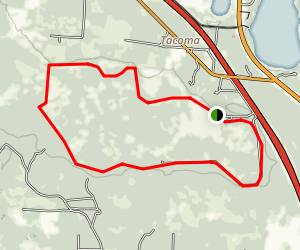Levy Loop Trail Map