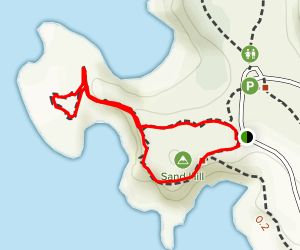 Sea Lion Point Trail Map