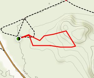 Grimes Point Archaeological Area Trail Map