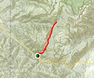 Moose Meadows Trail Map