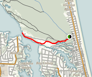 South Entry To Boat Launch Map