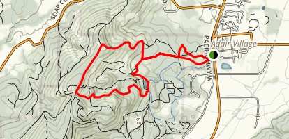 560 Loop Trail Map