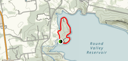 Round Valley Loop Trail Map