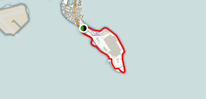 Deer Island Trail Map