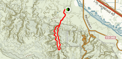Devils Canyon Loop Trail Map