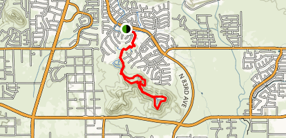Sunrise Mountain Trail Map
