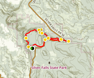 Trail of Ten Falls Map