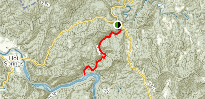Laurel River Trail Map